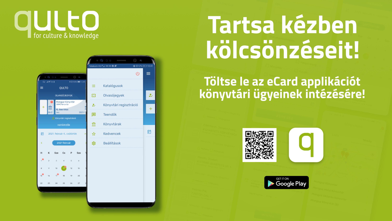 Töltse le az eCard applikációt